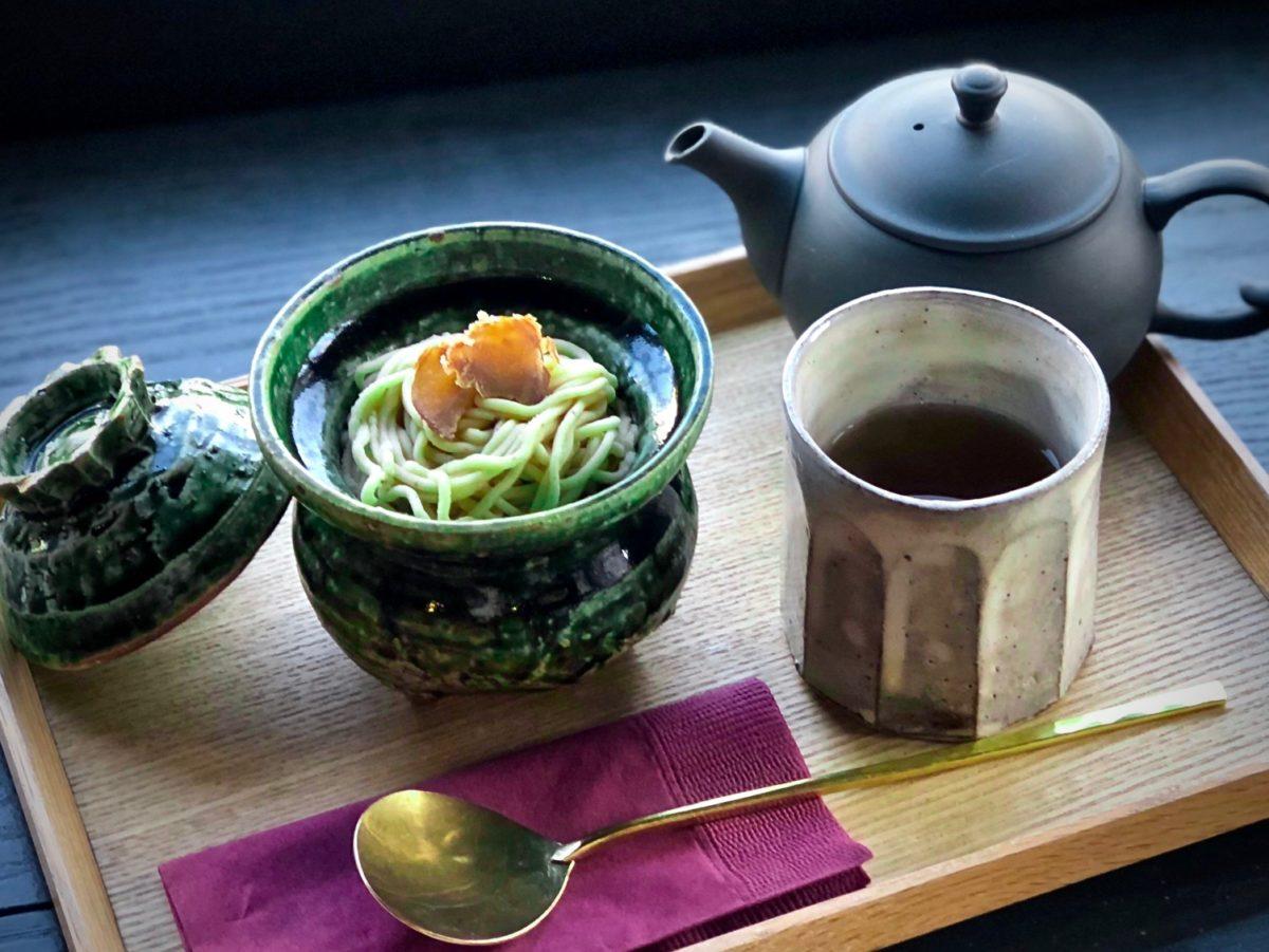 季節の果物入り モンブラン<br /> ver.石川県産 紋平柿